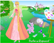 Barbie as rapunzel j�t�k
