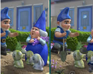 Gnomeo and Juliet spot the difference játék