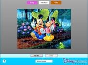 Mickey and Minnie jigsaw j�t�k