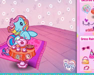 Rainbow dashs glamorous tea party online j�t�k