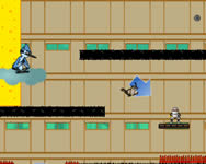 Regular show escape from Ninja Dojo rajzfilm j�t�kok ingyen