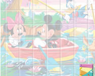 Sort my tiles Mickey and Donald rajzfilm j�t�kok