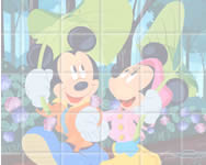 Sort my tiles Mickey and Minnie online játék