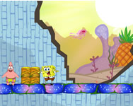 Spongebob and Patrick adventure online játék