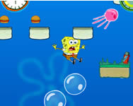 Spongyabob hooked on you online játék
