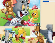 Tom and Jerry jigsaw online játék